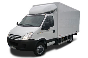Iveco Daily - objem 23m3
